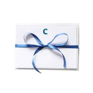 Cartao Letra C