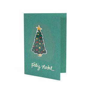 Feliz Natal Arvore verde
