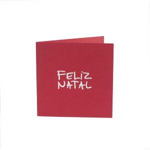 Feliz Natal vermelho